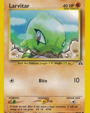 Larvitar Common Neo Discovery Unlimmited