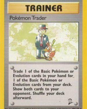 Pokémon Trader Rare Trainer Base Set 2