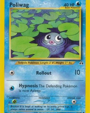 Poliwag Common Neo Discovery Unlimmited