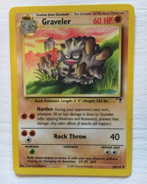 Graveler Uncommon Legendary Collection