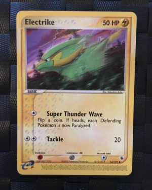 Electrike Uncommon Ex Ruby & Sapphire