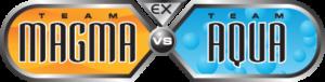 Ex Team Magma vs Team Aqua Logo