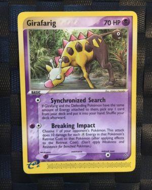 Girafarig Rare Ex Dragon