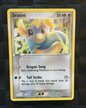 Dratini Common Ex Team Rocket Returns 4