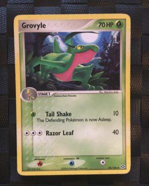 Grovyle Uncommon Ex Emerald