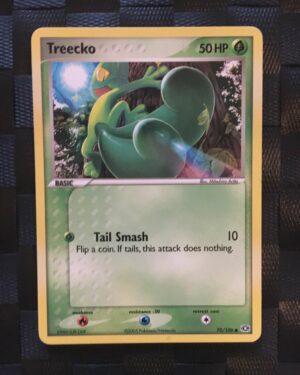 Treecko Common Ex Emerald 2