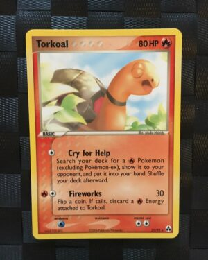 Torkoal Rare Ex Legend Maker