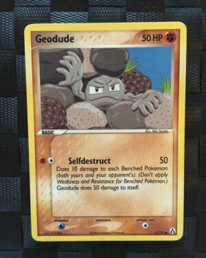 Geodude Common Ex Legend Maker 2