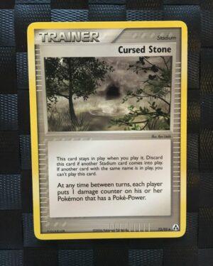 Cursed Stone Uncommon Trainer Ex Legend Maker 2