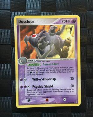 Dusclops Rare Ex Crystal Guardians