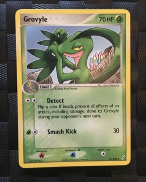 Grovyle Uncommon Ex Crystal Guardians