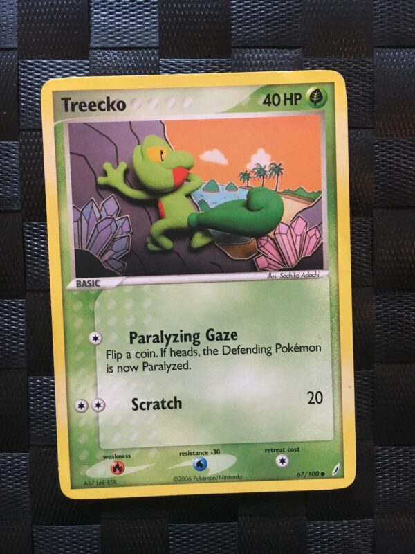 Treecko Common Ex Crystal Guardians 2