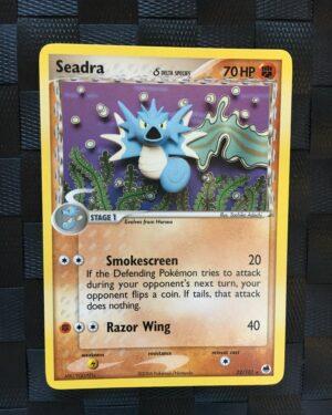 Seadra Rare Ex Dragon Frontiers