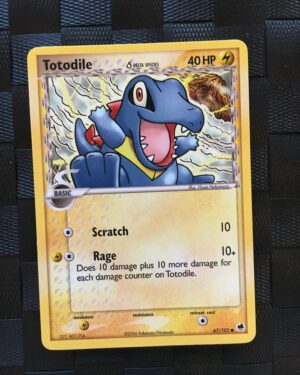 Totodile Common Ex Dragon Frontiers 2