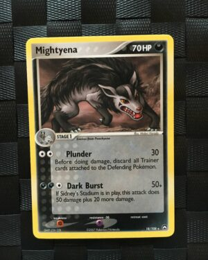 Mightyena Rare Ex Power Keepers