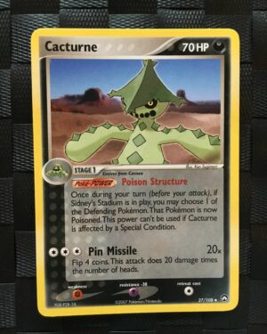 Cacturne Uncommon Ex Power Keepers