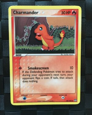 Charmander Common Ex Power Keepers