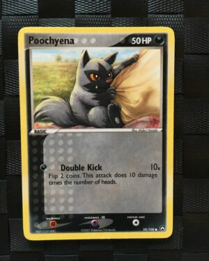 Poochyena Common Ex Power Keepers