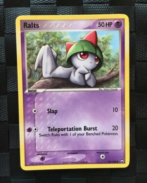 Ralts Common Ex Power Keepers