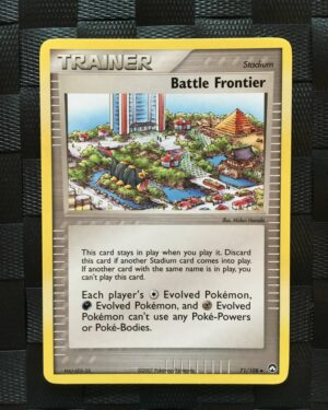 Battle Frontier Uncommon Trainer Ex Power Keepers