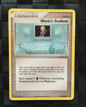 Glacia's Stadium Uncommon Trainer Ex Power Keepers