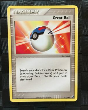 Great Ball Uncommon Trainer Ex Power Keepers