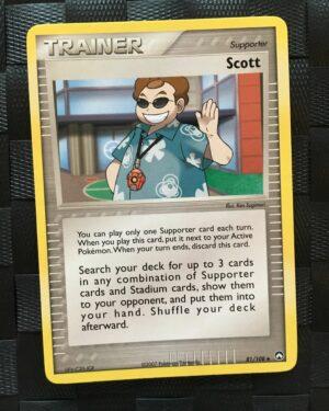 Scott Uncommon Trainer Ex Power Keepers