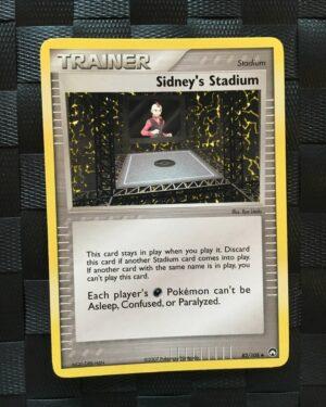 Sidney's Stadium Uncommon Trainer Ex Power Keepers