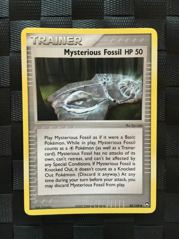 Mysterious Fossil 50 HP Common Trainer Ex Power Keepers