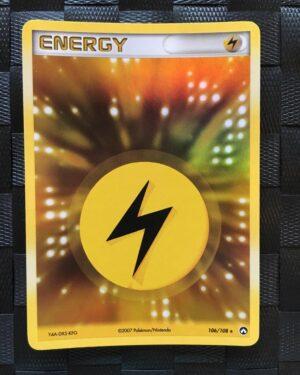 Lightning Energy Holo Ex Power Keepers