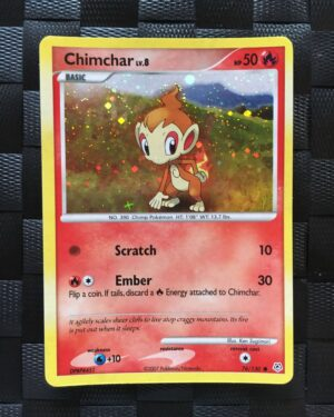 Chimchar Holo Diamond & Pearl