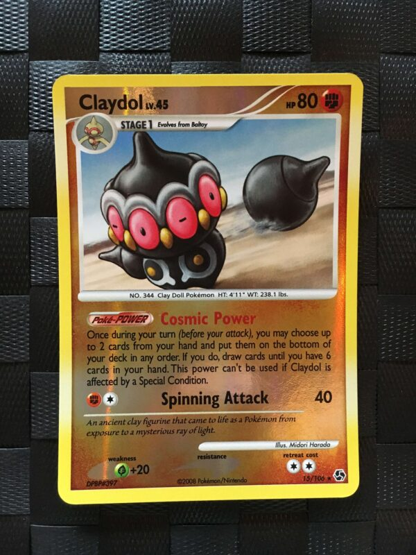 Claydol Rare Reverse Diamond & Pearl: Great Encounters