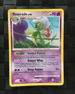 Roserade Rare Diamond & Pearl: Stormfront
