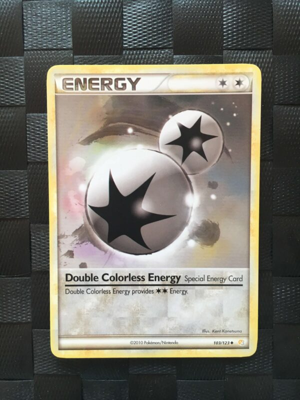 Double Colorless Energy Uncommon Heart Gold Soul Silver