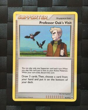 Professor Oak's Visit Uncommon Trainer Platinum: Arceus