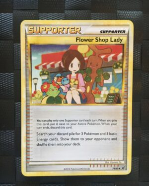 Flower Shop Lady Uncommon Trainer HGSS Undaunted