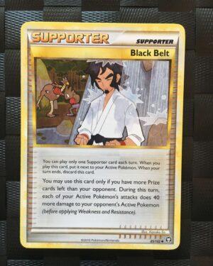 Black Belt Uncommon Trainer HGSS Triumphant