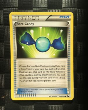 Rare Candy Uncommon Trainer Black & White: Dark Explorers