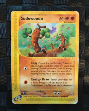 Sudowoodo Rare #36/147 – Aquapolis