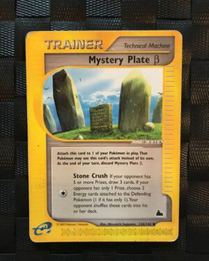 Mystery Plate B