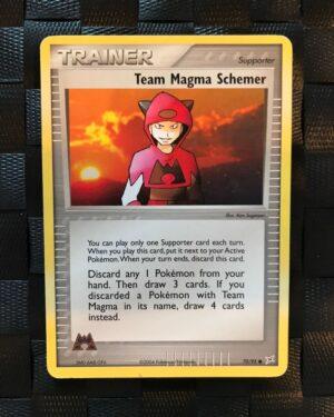 Team Magma Schemer